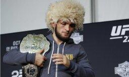 Nurmagomedovs UFC vadītājam: labi, ka atdevāt man čempiona jostu — citādi es sasistu jūsu auto