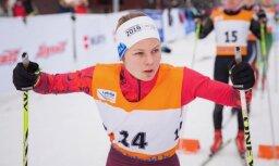 Bikše un Eiduka izcīna otrās vietas Latvijas čempionātā slēpošanā