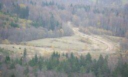 Латвия не может принять подаренную ей вершину Гайзинькалнса
