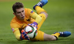 France s goalkeeper Luca Zidane