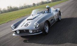Pirms 60 gadiem Lemānā startējis 'Ferrari' pārdots par 18 miljoniem dolāru