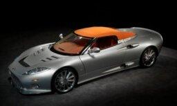 Holandiešu 'Spyker' prezentējis 'C8 Aileron' rodsteru
