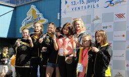 Fotoreportāža: Aizvadīta Latvijas jaunatnes vasaras olimpiāde