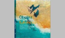 Izdota jauna Ineses Paklones grāmata bērniem 'Okeāns un tuksnesis'