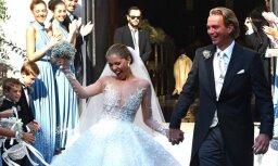 ФОТО: Как выглядит свадебное платье девушки из клана Сваровски