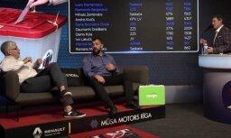 Video: Lien kā uz zupas katlu katrs ar savu karoti — 'Hattrick' par sportistiem politikā