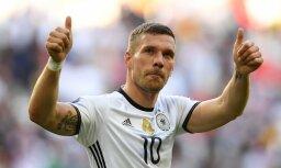 Germany s forward Lukas Podolski