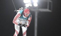 Rastorgujevs ar sliktu šaušanu ieņem 22. vietu Pasaules kausa posma masu starta distancē