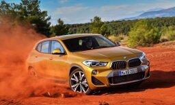 BMW prezentējis sērijveida 'X2' apvidnieku