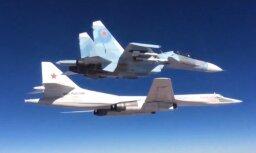 Pie Latvijas teritoriālajiem ūdeņiem manītas četras Krievijas lidmašīnas