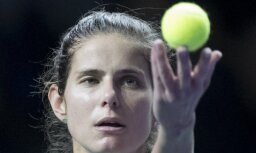 Sevastovas pretiniece 'WTA Elite Trophy' turnīra pusfinālā būs Jūlija Gērgesa