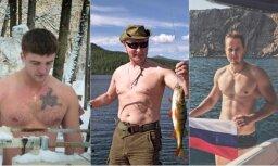 Putina brīvdienu foto aizsāk vīrišķīgu stulbingu