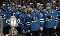 Sanhosē 'Sharks' pirmo reizi vēsturē iekļūst Stenlija kausa finālā