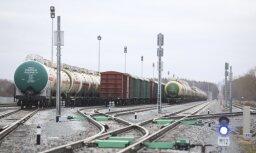 Dzelzceļa kravu pārvadājumu apmērs pērn samazinājies par 8,4%