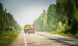 На дорогах Латвии начата масштабная заделка ям: просят соблюдать скоростной режим