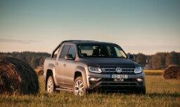 Par Starptautisko Gada pikapu kļuvis 'VW Amarok'