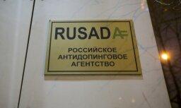 WADA atļauj RUSADA atsākt veikt dopinga pārbaudes