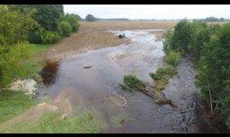 Ситуация в Латгалии из-за наводнений остается тяжелой