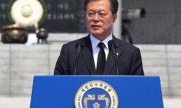 Spiediena izdarīšana pret Ziemeļkoreju varētu tikt pārskatīta, pauž Mūns Džēins