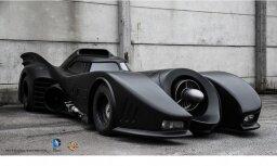 Ķīpsalā piestās miljonu vērtais Betmena auto