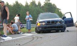 Avārija uz Tallinas šosejas