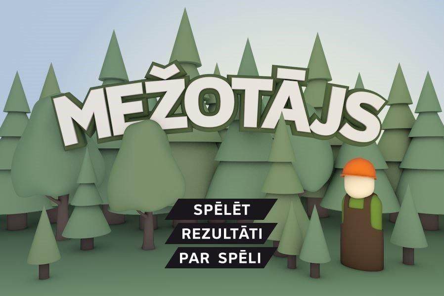 Jautras un izglītojošas spēles bērniem, lai izzinātu mežu