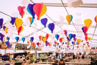Noskaidrots, ko ēd un dzer mūzikas festivāla 'Positivus' apmeklētāji