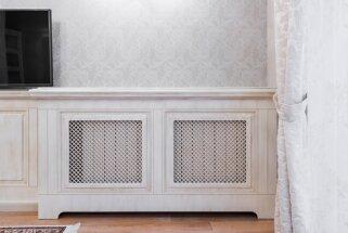 Interesantas pieejas, kā interjerā paslēpt radiatorus