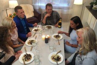 'Cepiens' Evijas Skultes virtuvē: kādus šedevrus fani gatavoja aktrisei