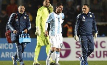 Mesi guvis savainojumu pārbaudes mačā pirms 'Copa America'