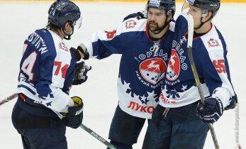 Daugaviņa pārstāvētā 'Torpedo' zaudē KHL Austrumu konferences līderei 'Avangard'