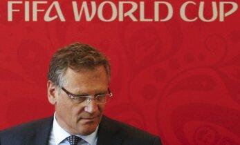 FIFA skandāls: bijušajam ģenerālsekretāram Valkē 12 gadu diskvalifikācija