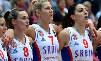 Serbija pirmoreiz vēsturē triumfē Eiropas čempionātā basketbolā sievietēm