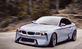 'BMW 2002 Hommage' par godu šīs markas pirmajam auto ar turbopūti