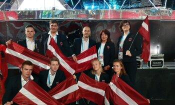 Salabot helikopteru vai apkalpot īgņu: Latvijas komanda startē prestižajā 'WorldSkills'