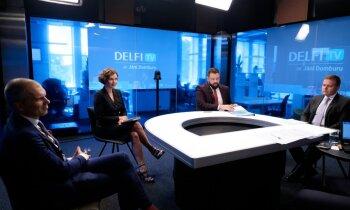 'Delfi TV ar Jāni Domburu' diskusija par stratēģiju Covid-19 krīzes ekonomisko seku mazināšanai. Pilns ieraksts