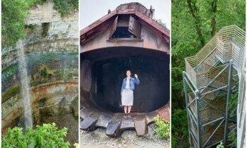 Klintis, ūdenskritumi un raktuvju safari Igaunijas ziemeļos