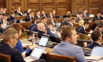 Tehnisks un vēls – Saeima noslēdz darbu pie šī gada budžeta. Teksta tiešraides arhīvs