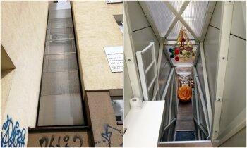 Kereta māja: metru plats pilnībā funkcionējošs divstāvu miteklis Varšavā