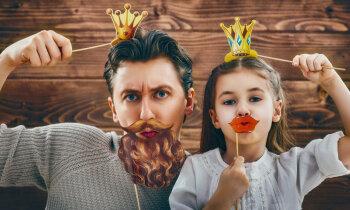Buča tētim uz lūpām – biedējoši un dīvaini? Vai familiaritātei ģimenē ir robežas?