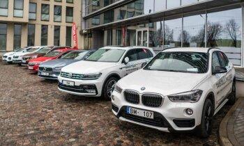 Nosaukti 'Latvijas Gada auto 2017' titulu ieguvēji