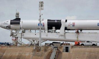 Arī otrais piegājiens apdraudēts: apstākļi, kas var izjaukt 'SpaceX' startu sestdien