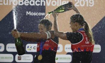 Jaunākās starp stiprākajām – mūsu Eiropas čempiones tēmē uz Tokiju