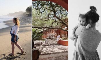 Ne vienmēr viss notiek pēc plāna – kā Madara Meksikā laida pasaulē meitu
