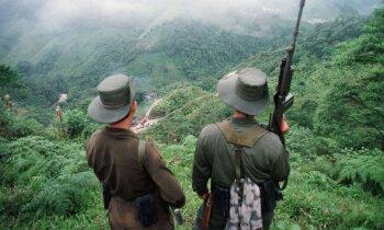 Vai Trampam taisnība? Kas vieno Venecuēlu un Kolumbijas komunistu kaujiniekus