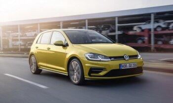 VW modernizējis 'Golf' modeļa saimi
