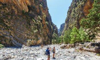 Dabas varenība, kalni un kazas: 13 kilometru pārgājiens pa Samārijas aizu Krētā