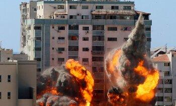 'Sveiki, jūsu māju uzspridzinās' jeb kurš nogalina civiliedzīvotājus Gazā?