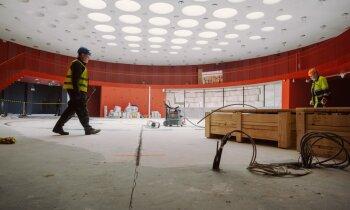 Ekskluzīvs ieskats: kā top Ventspils Zinātnes un inovāciju centrs