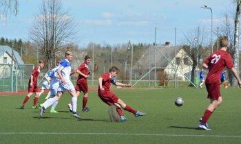 LFF atklāj virkni nekārtību 'futbola paraugbāzē' 'MTC Staicele'